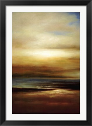 Framed Sound of the Waves II Print