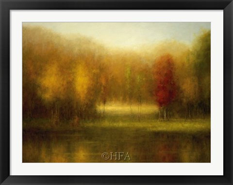 Framed Autumn Grace Print