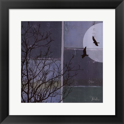 Framed Full Moon II Print