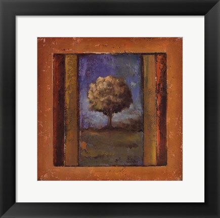 Framed Lonely Trees IV Print