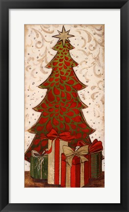 Framed Christmas Tree II Print