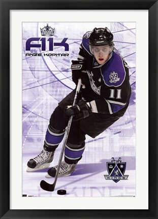 Framed LA Kings® - A Kopitar 10 Print