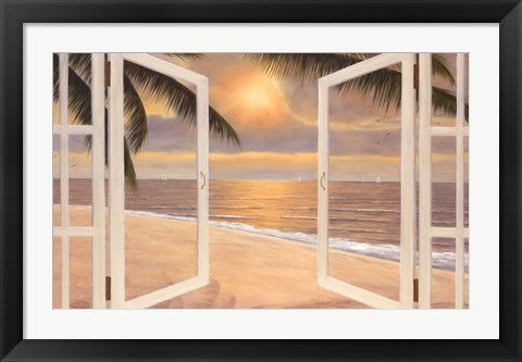Framed Step Into A Dream Print