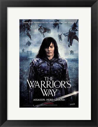 Framed Warrior's Way Print