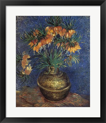 Framed Fritillaries Print