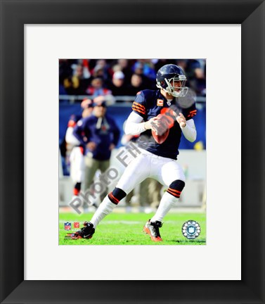 Framed Jay Cutler 2010 Action Print