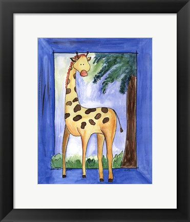 Framed Standing Tall Print
