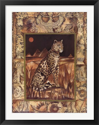 Framed Egyptian Splendor I Print