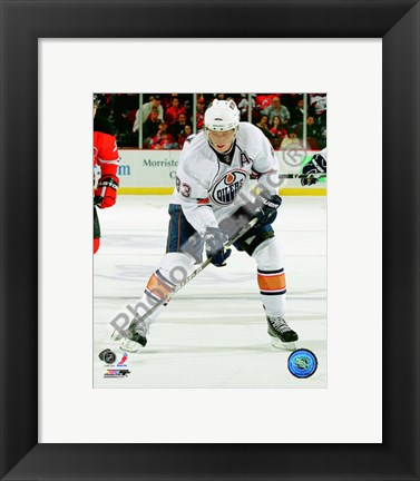 Framed Ales Hemsky 2010-11 Action Print