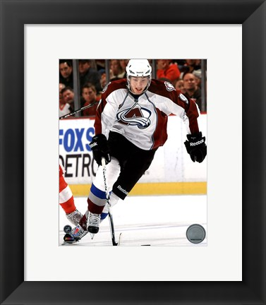 Framed Matt Duchene 2010-11 Action Print