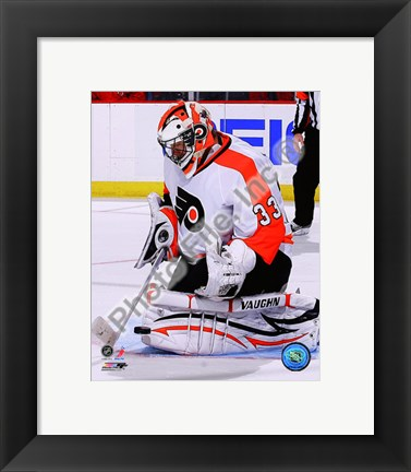 Framed Brian Boucher 2010-11 Action Print
