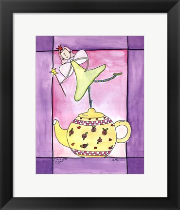 Framed I Am A Little Teapot Print