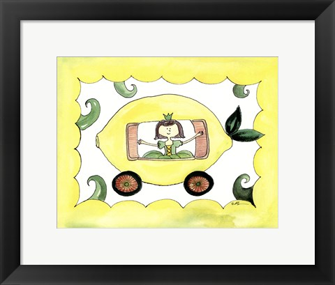 Framed Lemmon Carriage Print