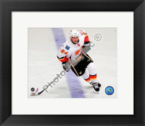 Framed Craig Conroy 2010-011 Action Print