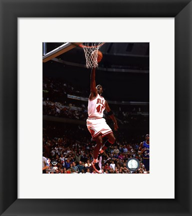 Framed Michael Jordan 1994-95 shooting Print
