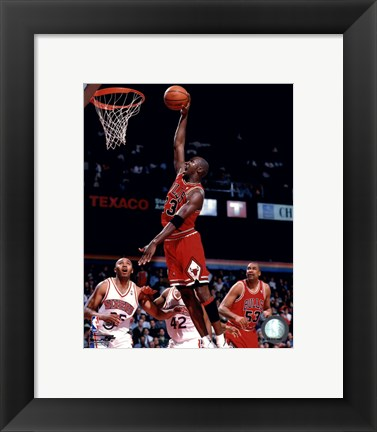 Framed Michael Jordan 1995-96 Action Print
