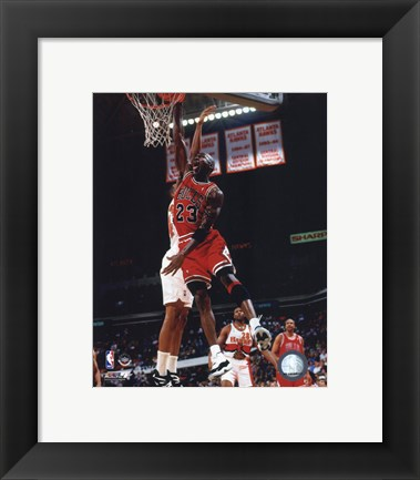 Framed Michael Jordan 1996 Action Print