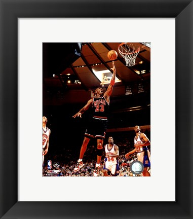 Framed Michael Jordan 1998 Action Print