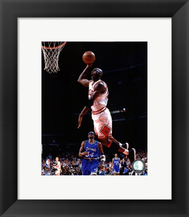 Framed michael jordan wingspan poster