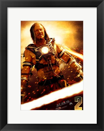 Framed Iron Man 2 Ivan Vanko Print