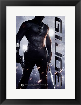Framed G.I. Joe: Rise of Cobra - man in the shadows Print