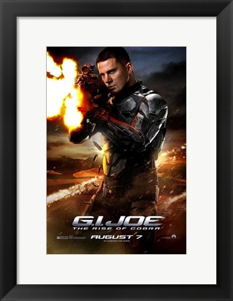 Framed G.I. Joe: The Rise of Cobra Print