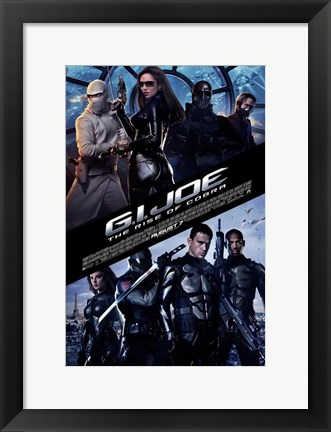 Framed G.I. Joe: Rise of Cobra Print