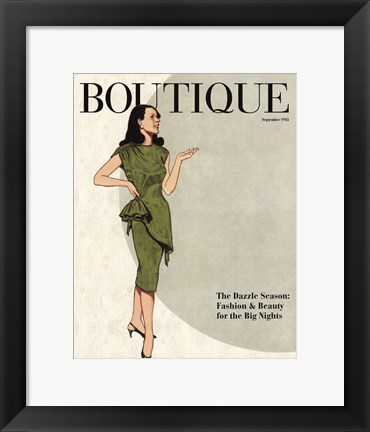 Framed Boutique Print