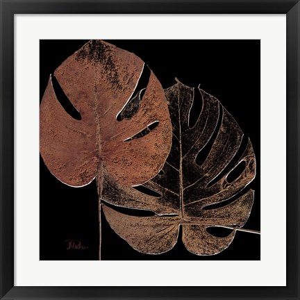 Framed Black Balazo I Print
