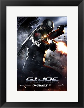 Framed G.I. Joe: Rise of Cobra - shooting Print