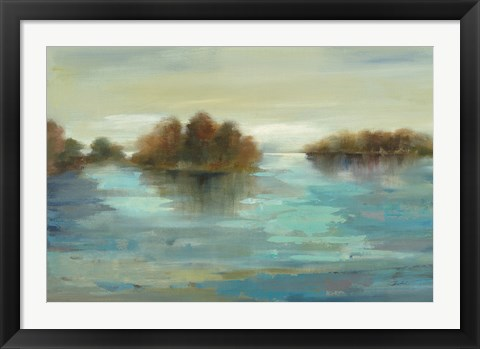 Framed Serenity on the River Print