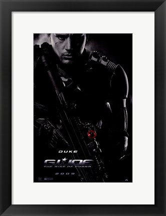Framed G.I. Joe: Rise of Cobra - Duke Print