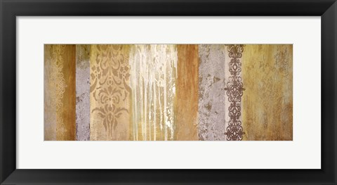 Framed Winter Abstract II Print