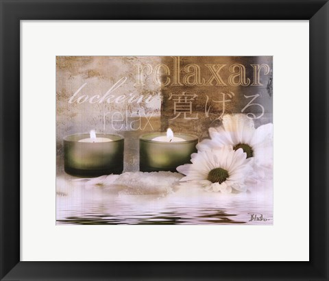 Framed Relaxation I Print