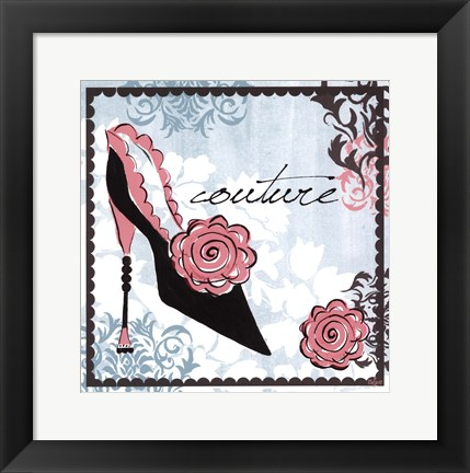 Framed Couture Print