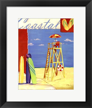Framed Lifeguard Collage IV Print