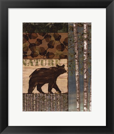 Framed Nature Trail II Print