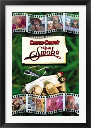 Framed Cheech and Chong - Up In Smoke Print