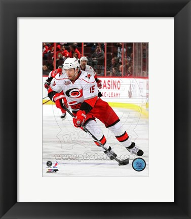 Framed Tuomo Ruutu 2010-11 Action Print