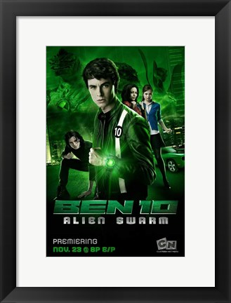 Framed Ben 10: Race Against Time (TV) Print