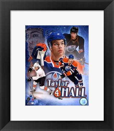 Framed Taylor Hall Portrait Plus Print