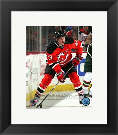 Framed David Clarkson 2010-11 Action Print