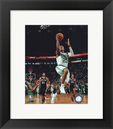 Framed Ray Allen 2010-11 Action Print