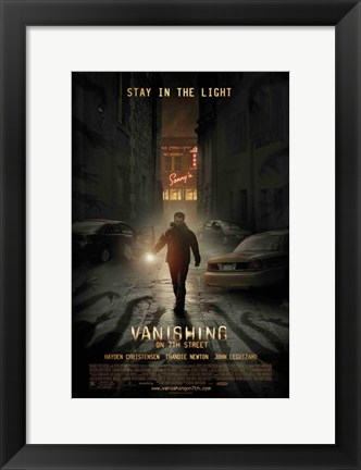 Framed Vanishing on 7th Street Print