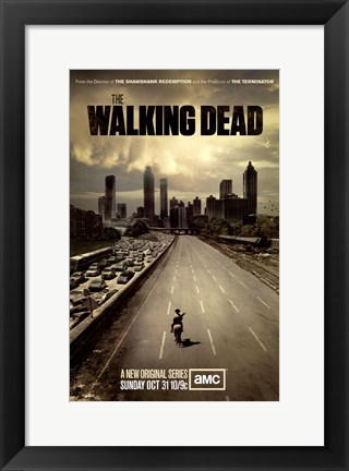 Framed Walking Dead (TV) Print