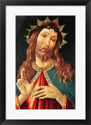 Framed Ecce Homo, or The Redeemer, c.1474 Print