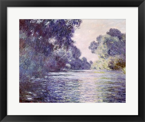 Framed Branch of the Seine near Giverny, 1897 detail Print