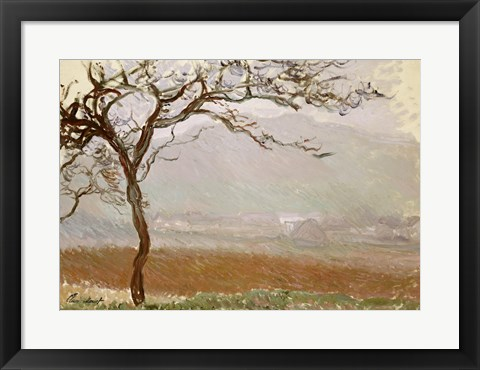 Framed Giverny Countryside Print