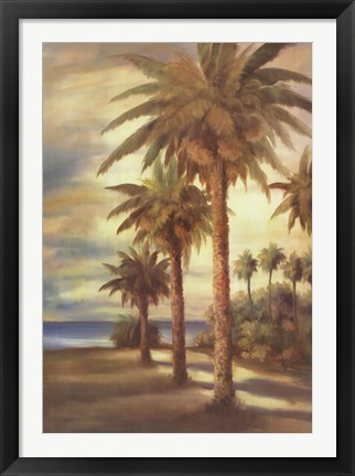 Framed Tropical Splendor II Print