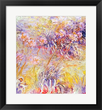 Framed Impression: Flowers Print